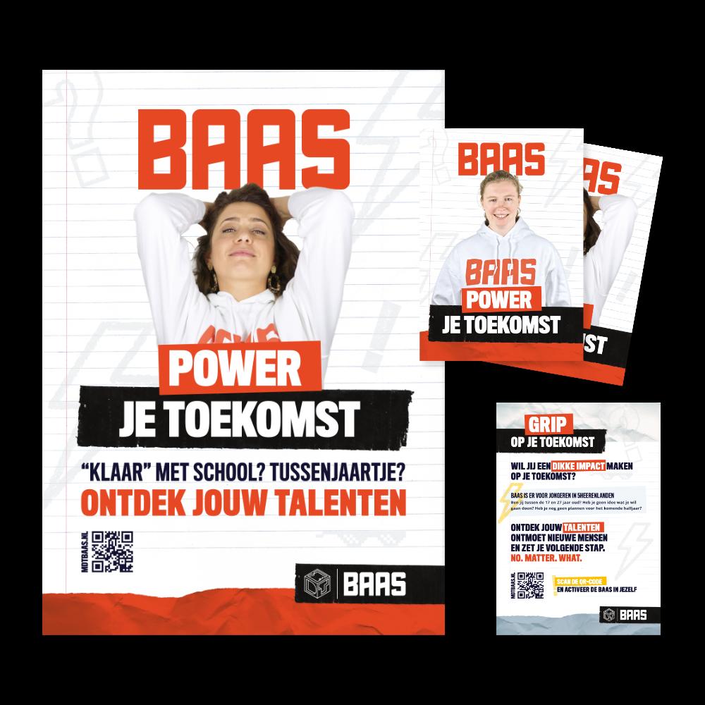 MDT BAAS Vijfheerenlanden huisstijl / branding / website door reclameburo / brandingburo Joofle Reclame