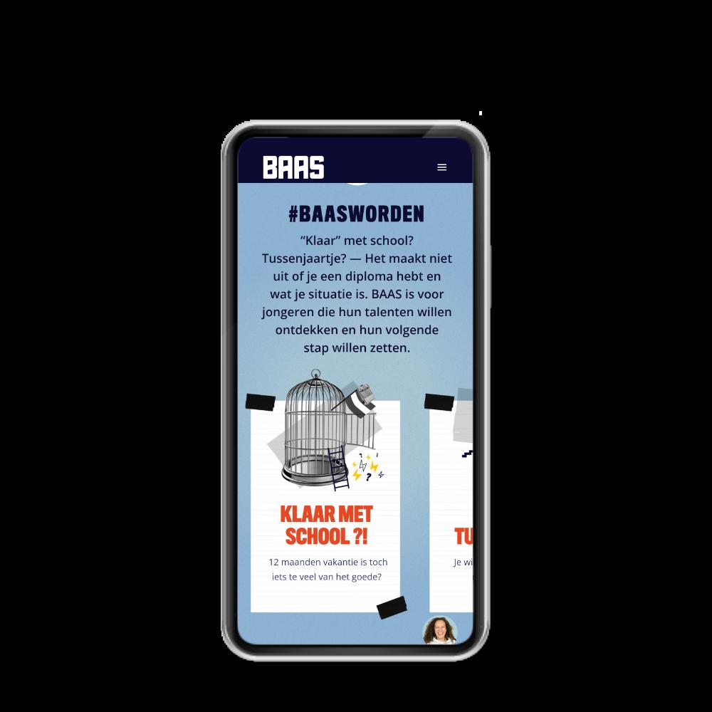 MDT BAAS Vijfheerenlanden website door reclameburo / brandingburo Joofle Reclame