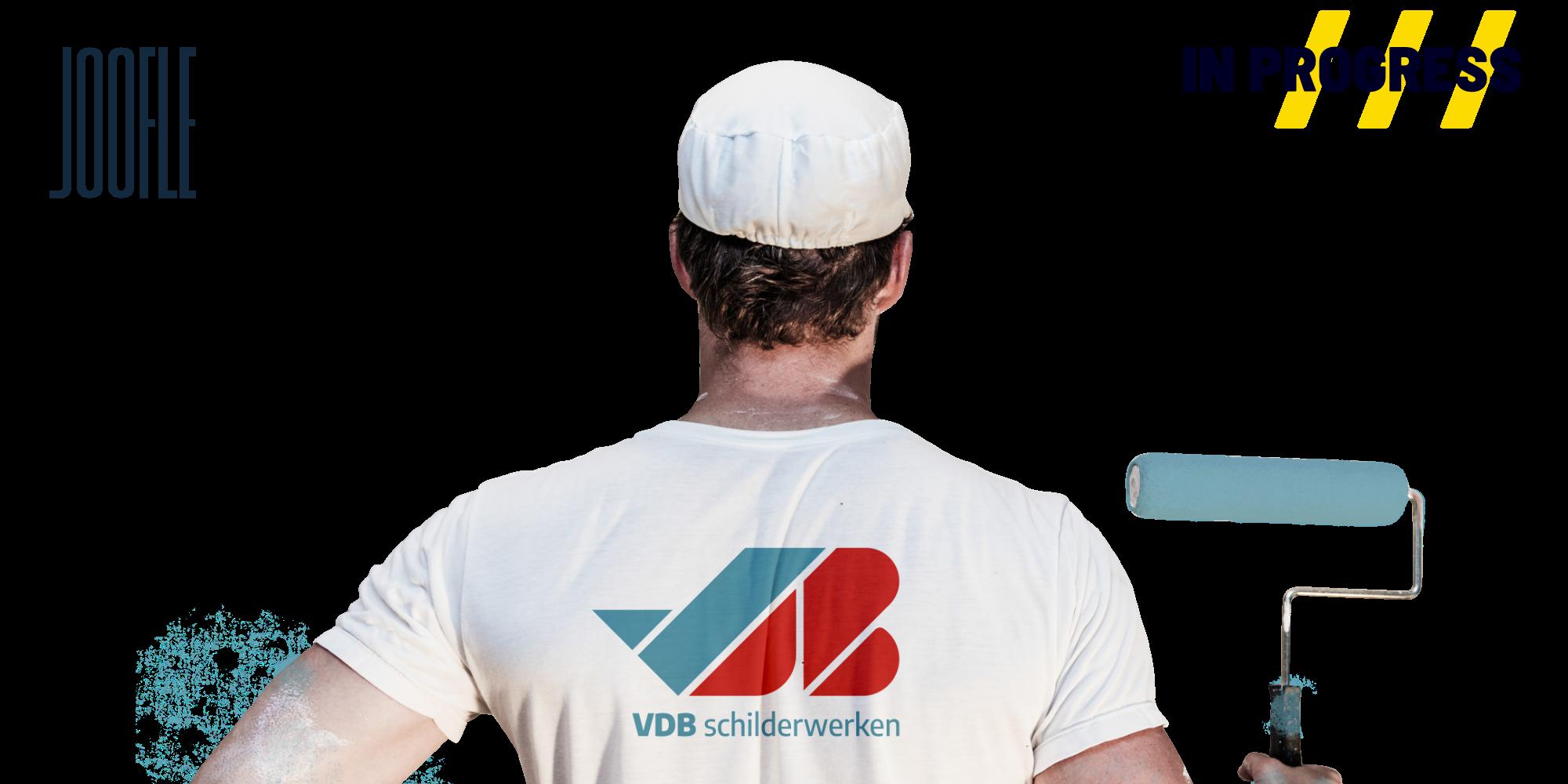 VDB Schilderwerken logo door Joofle Reclame