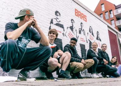 MDT-BAAS Streetart Actie